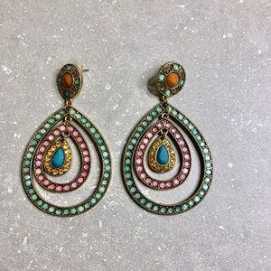 Multi-colour Chandelier Earrings